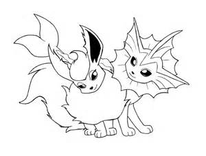 ... Coloring Pages Eevee Evolution Colouring Pages Vaporeon Coloring Pages