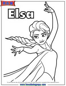 Frozen Elsa Let It Go Coloring Pages Elsa magic with heart for mom
