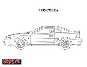 1964 mustang colouring pages