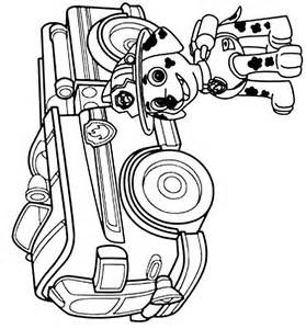 Paw Patrol Coloring Pages Marshall Marshall Colo