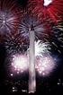 File:Fourth of July fireworks behind the Washington ...