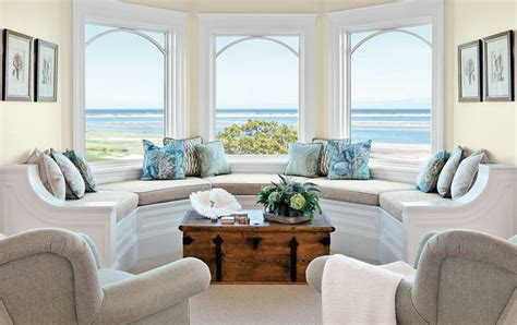 Amazing beach themed living room decorating ideas