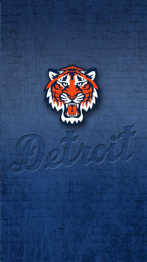 Detroit Tigers iPhone 5 wallpaper by LicoriceJack on