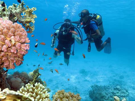 Diving Sharm El Sheikh Tiran Island Red sea Egypt