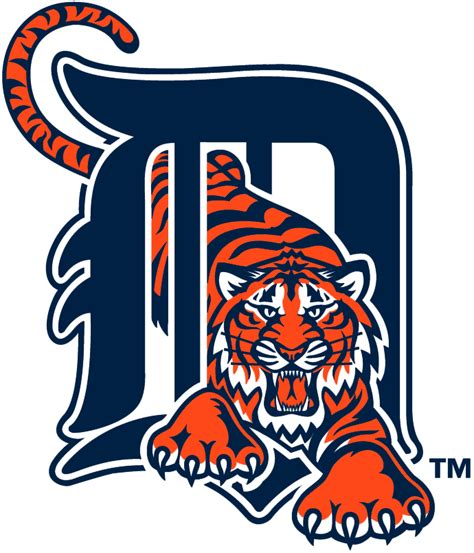 Detroit Tigers Primary Logo American League (AL) Chris