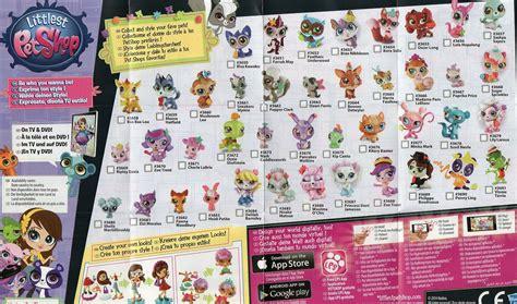 Image 3650 through 3691 toy checklistjpg Littlest Pet