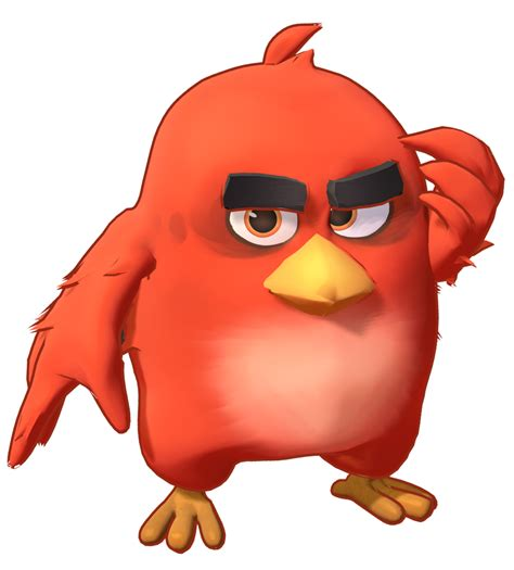 MMD Angry Birds Red Fire Model preview1 by 495557939 on