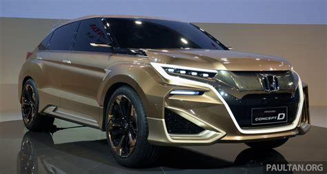 Shanghai 2015: Honda Concept D previews new SUV