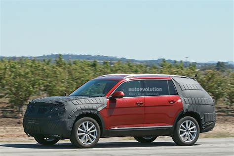 Volkswagen Testing a New SUV with Production Body, We