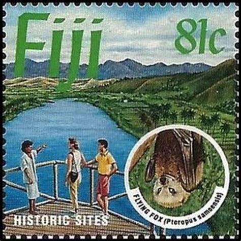 Stamp: Historic Sites, Samoa Flying Fox (Pteropus
