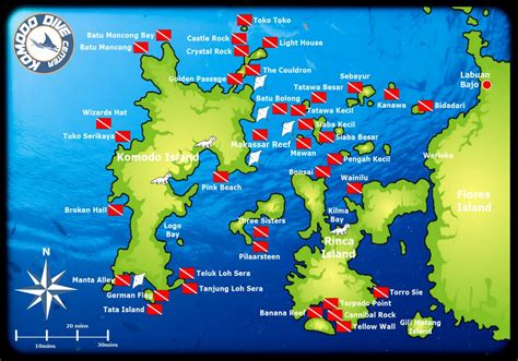 Dive Sites in Komodo Komodo Dive Center