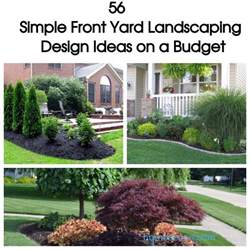 56 Simple Front Yard Landscaping Design Ideas on a Budget HOMEDECORT