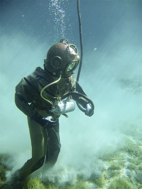 Person in Green Scuba Diving Suit · Free Stock Photo