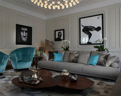 31 Gray And Turquoise Living Room Decorating Ideas