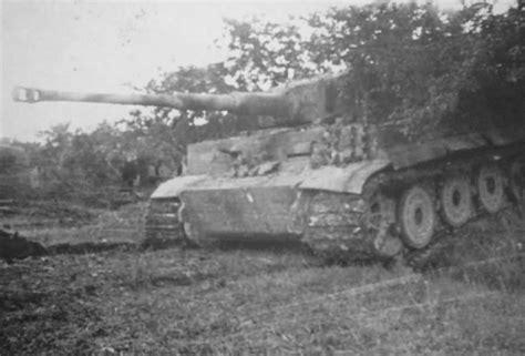 Tiger with steel wheels of the schwere Panzer Abteilung