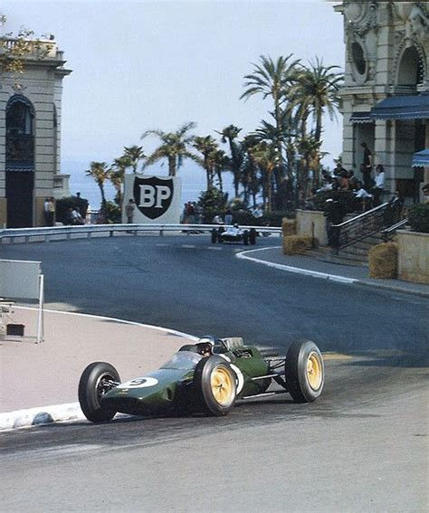 1963 Formula 1 Monaco Grand Prix Jim Clark (Lotus 25) #