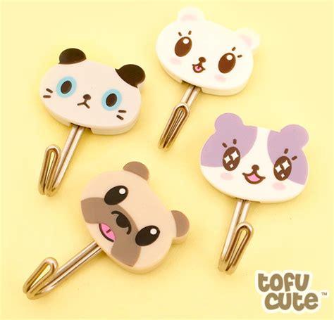 Buy Kawaii Pets Adhesive Hooks Set of 4 at Tofu Cute