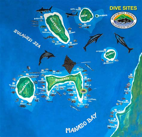 Dive Sites Bunaken Divers Manado