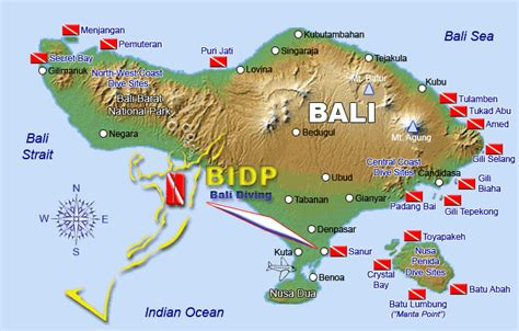 Bali Dive Sites Bali Indonesia's Dive Sites and Scuba
