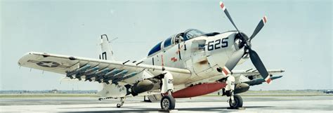 Boeing: Historical Snapshot: AD/A 1 Skyraider Attack Bomber