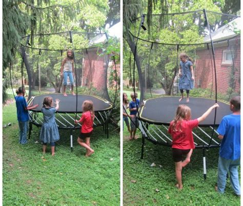 Did You Know There Is A Spring Free Trampoline? Family