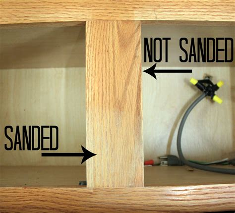Sanding Cabinets With Captivating Tip How To Stain Kitchen