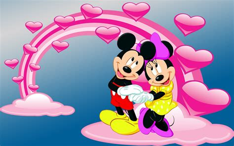 Mickey And Minnie Mouse Photo By Love Desktop Hd Wallpaper