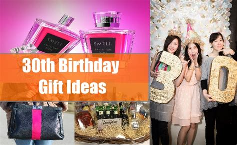 30th Birthday Gift Ideas For Men And Women Unusual