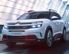 Citroen C5 Aircross new SUV revealed at Shanghai Motor
