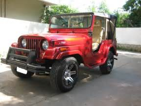Gallery For > Modified Mahindra Jeep