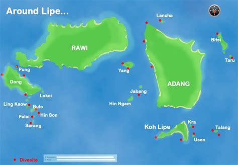 Beautiful dive sites on Ko Lipe, Thailand