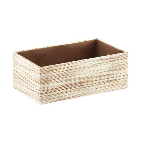 wicker storage baskets for shelves Home Design And Decor