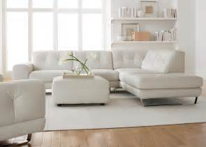 Simple Modern Minimalist Living Room Decoration With White