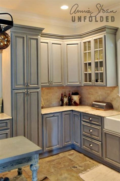 How To Paint Kitchen Cabinets With Chalk Paint Annie