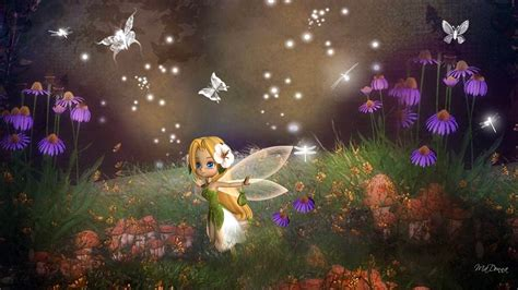 Beautiful Fairies Wallpapers ·①