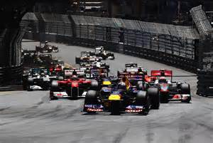 F1 Monaco Grand Prix Results Red Bull Racing Motor