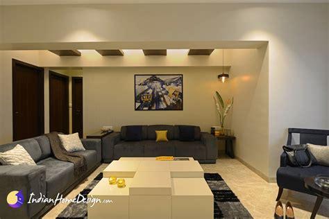 Spacious Living room Interior design Ideas by Purple Designs