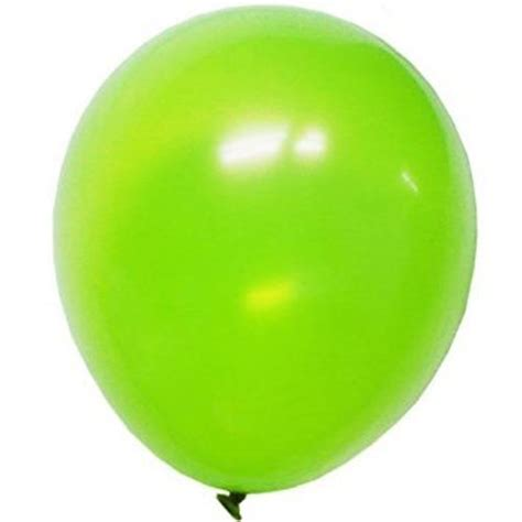 Party Supplies Lime Green Latex Balloons at ToyStop