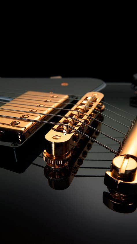 Black Guitar spice Wallpapers HD 1440x2560