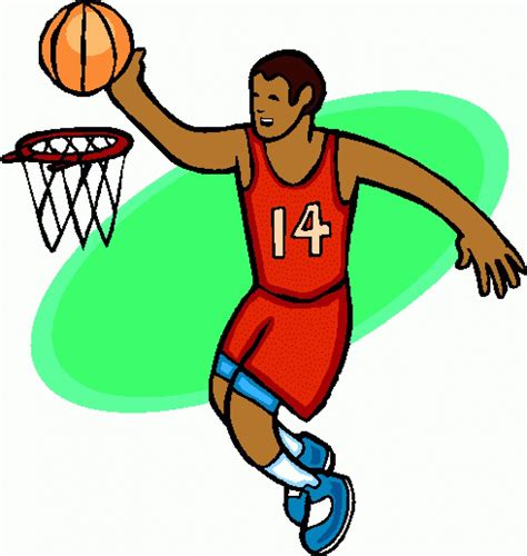 basketball player clip art clipartsco basketball game