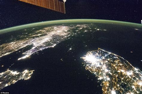 Nasa satellite images show how North Korea is so secretive