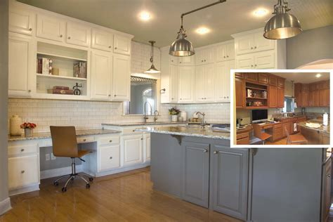 Painting Kitchen Cabinets: Before, or After Changing the