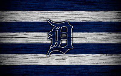 Download wallpapers Detroit Tigers, 4k, MLB, baseball, USA