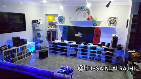 My gaming room 👌 : NintendoSwitch