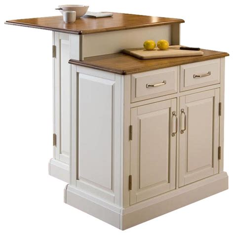 2 Tier Kitchen Island Contemporary Kitchen Islands And