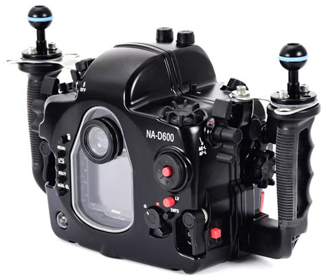 Just announced: Nauticam NA D600 underwater housing for