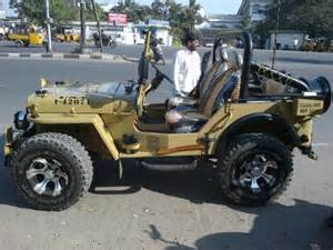 Pics Photos Modified Mahindra Jeep Picture Modifiedcars