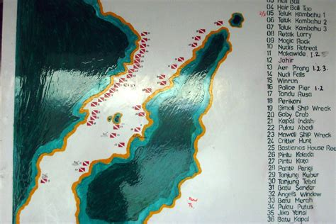 The Indonesia Dive Site Maps Whats That Fish!