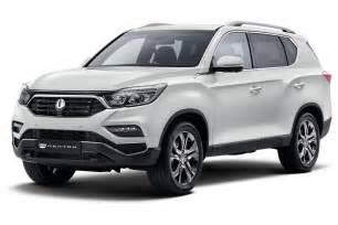 New SsangYong Rexton SUV (Mahindra XUV700) Surfaced Online