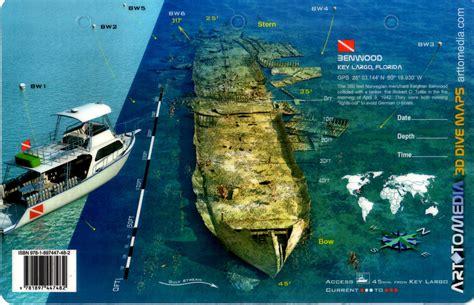 Benwood, Key Largo 3D Dive Site Card